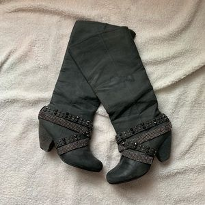 Women's NOT RATED bling boots